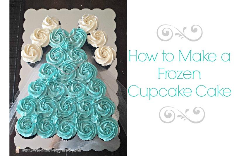 How to make a Frozen Cupcake Cake