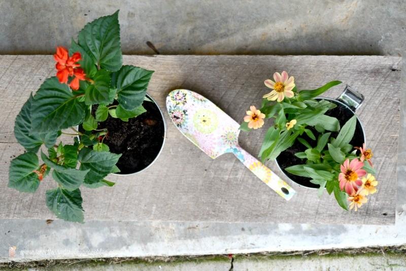 DIY Deck Hanging Pot Rod  |  Sweet Tea & Saving Grace
