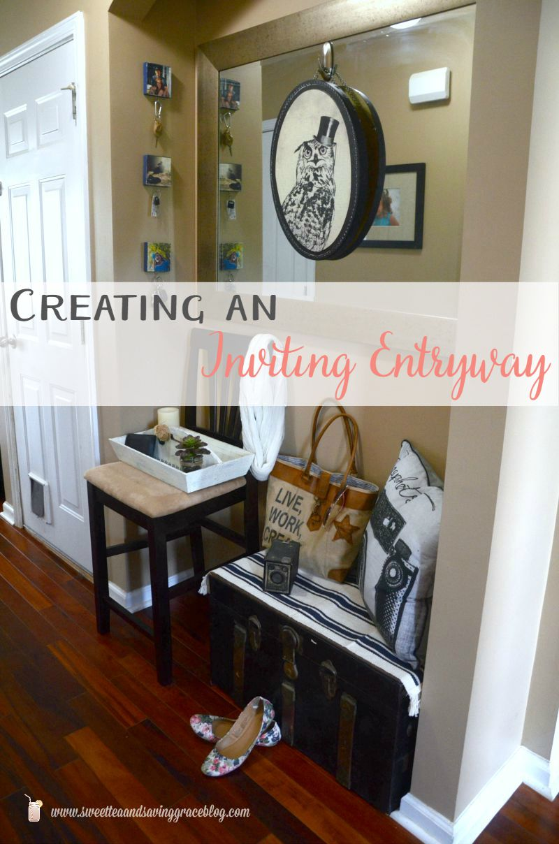Creating An Inviting Entryway with Graham & Brown  |  Sweet Tea & Saving Grace