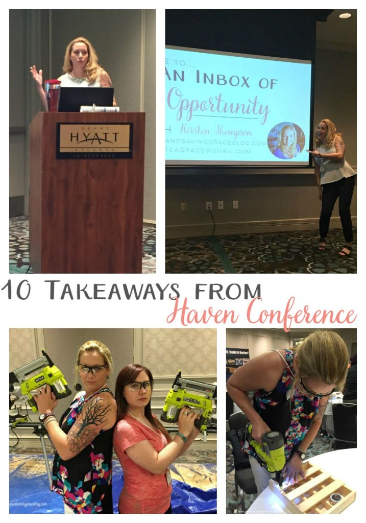 10 Takeaways from Haven Conference 2015  |  Sweet Tea & Saving Grace