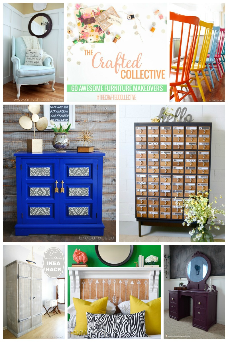 60 Furniture Makeovers  |  Sweet Tea & Saving Grace