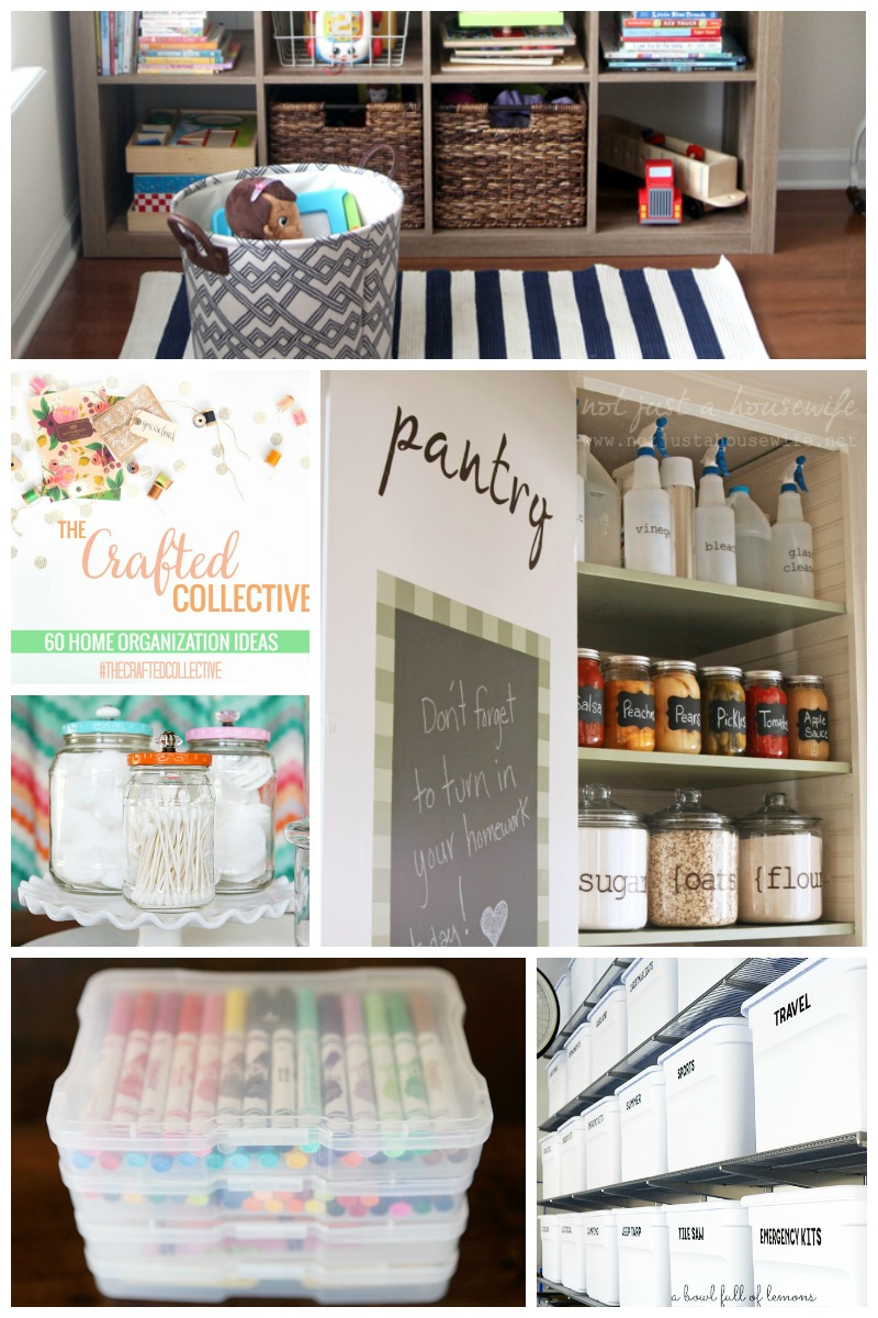 60 Home Organization Ideas  |  Sweet Tea & Saving Grace