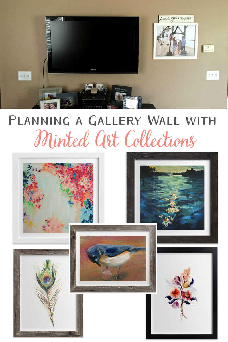 Gallery Wall Planner planning a gallery wall with minted | sweet tea & saving grace