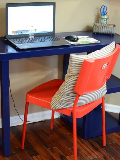 DIY Laminate Desk Makeover