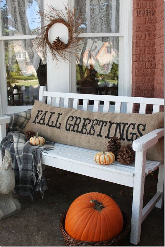 60 Outdoor Fall Decor Ideas | Sweet Tea U0026 Saving Grace