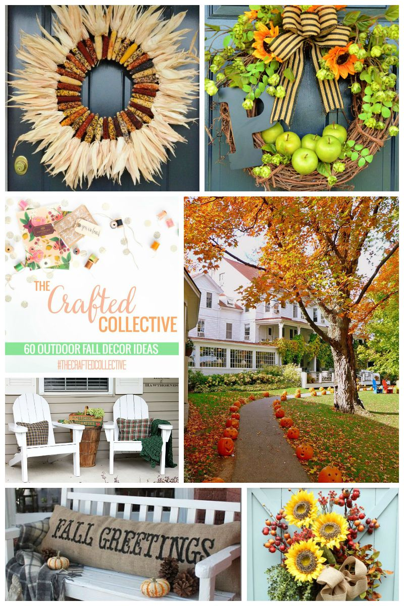 60 Outdoor Fall Decor Ideas | Sweet Tea & Saving Grace