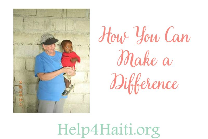 How to Make a Difference: Help4Haiti