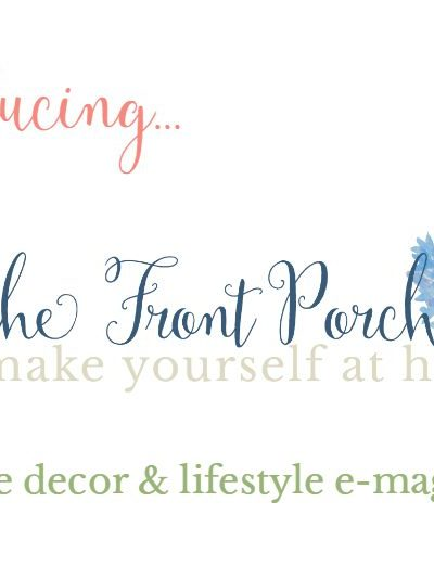 Introducing From the Front Porch E-Magazine