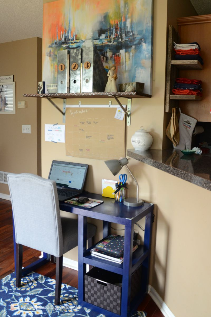 Bright & Rustic Home Office Reveal | Sweet Tea & Saving Grace