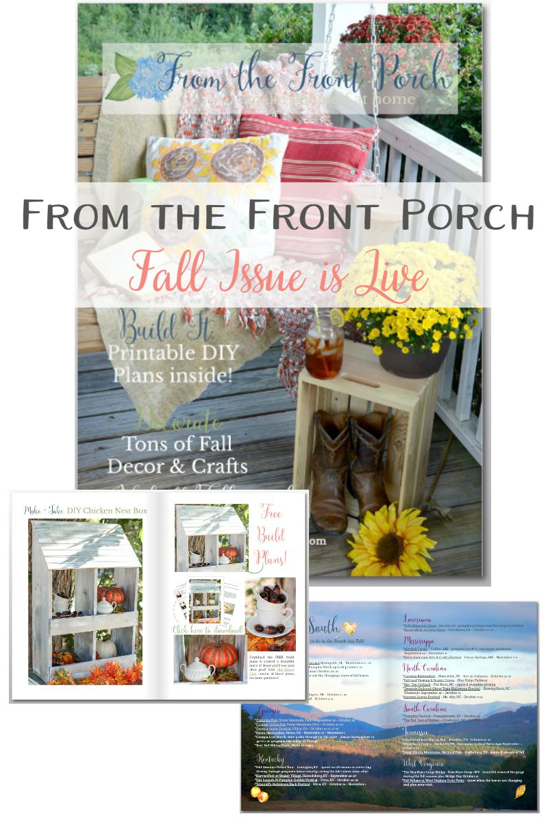 From the Front Porch Fall Issue   Sweet Tea & Saving Grace