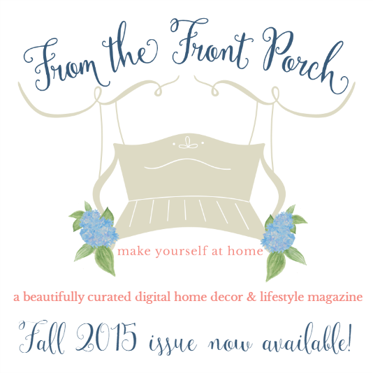 Flip the Pages of From the Front Porch Mag