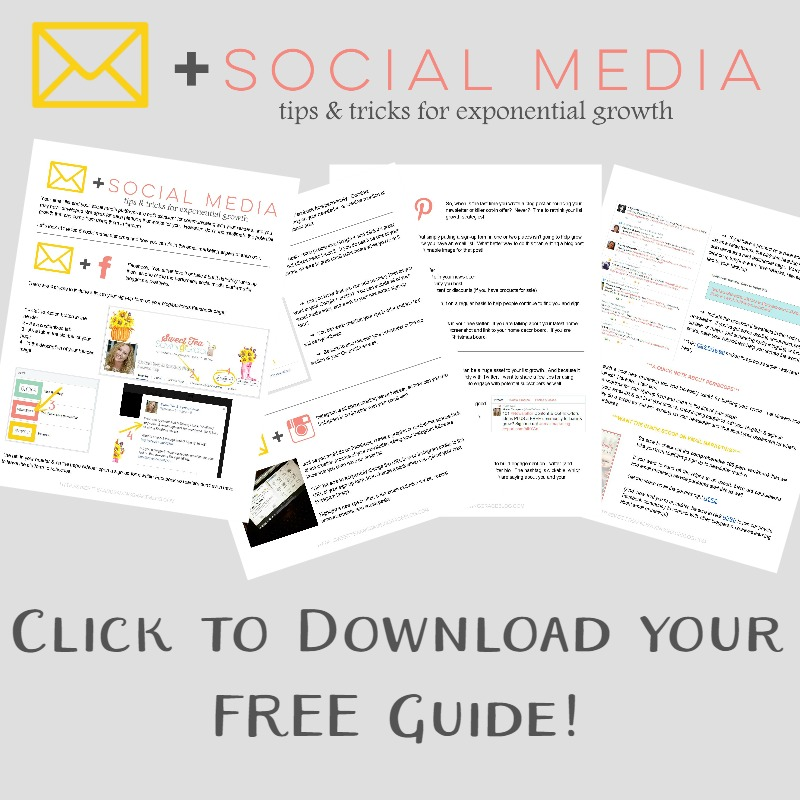 Learn how to combine the power of social media with your email marketing to create exponential list growth & increased engagement. Plus a FREE PDF guide to the top 5 social media platforms!