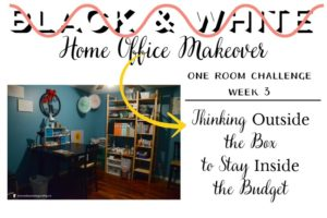 One Room Challenge: Thinking Outside the Box to Stay Inside the Budget | Sweet Tea & Saving Grace