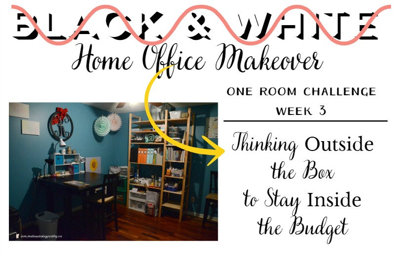One Room Challenge: Thinking Outside the Box
