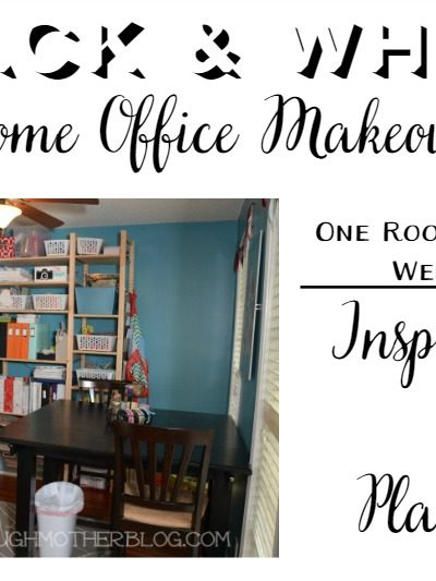 One Room Challenge: Planning the Home Office Makeover