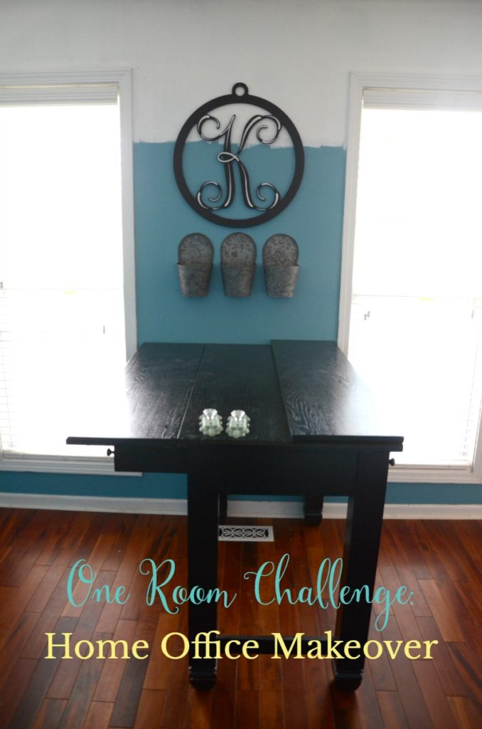 home office makeover one room challenge week 4