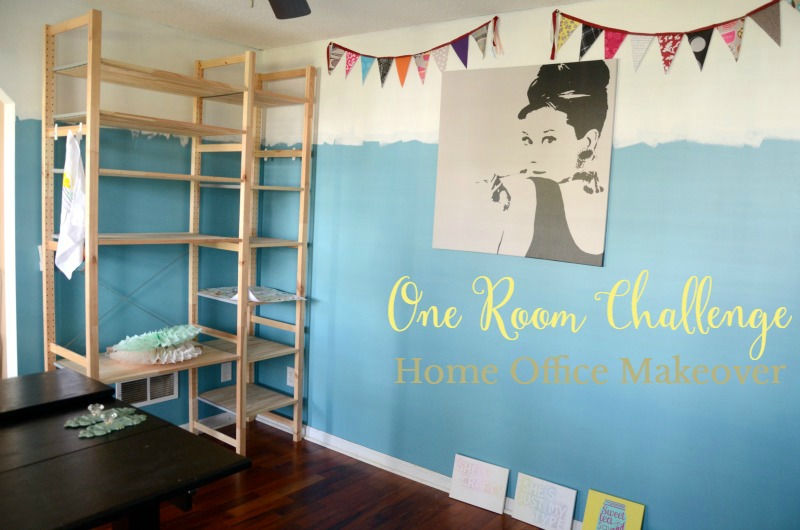 One Room Challenge: Creatively Painted Walls