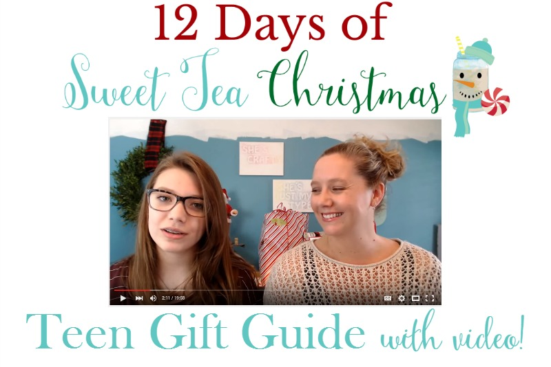 12 Days of Sweet Tea Christmas Teen Gift Guide Feature