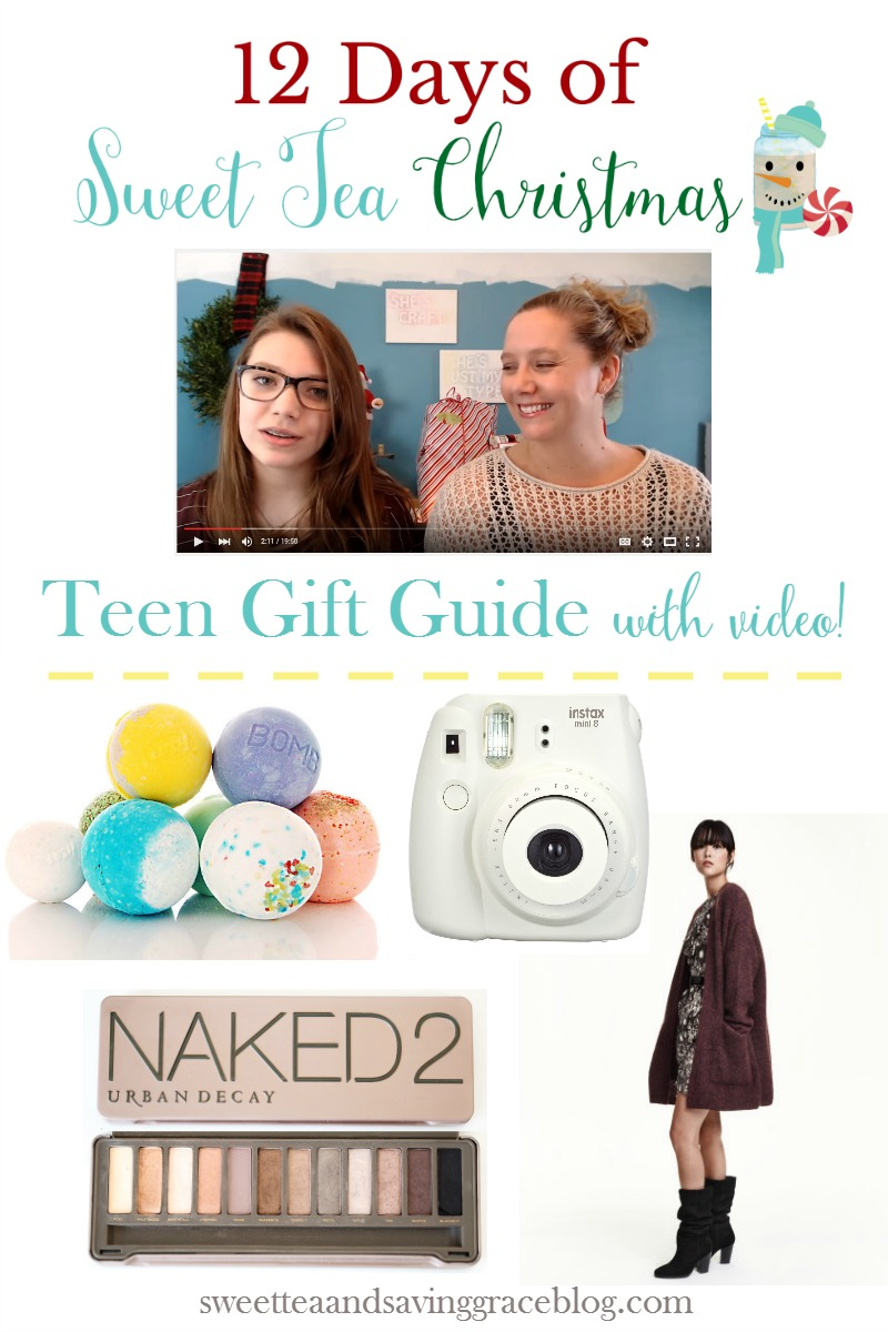 What do you get the teen for Christmas who is impossible to shop for? Here's a real-life teen gift guide put together by a teenager! Part of 12 Days of Sweet Tea Christmas!