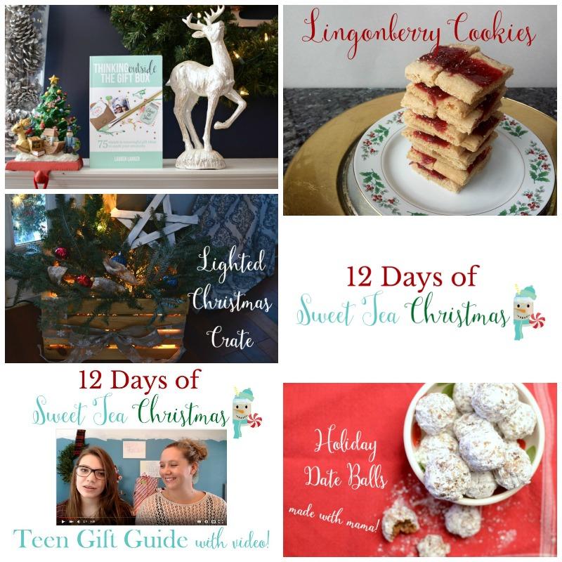 12 Days of Sweet Tea Christmas recap