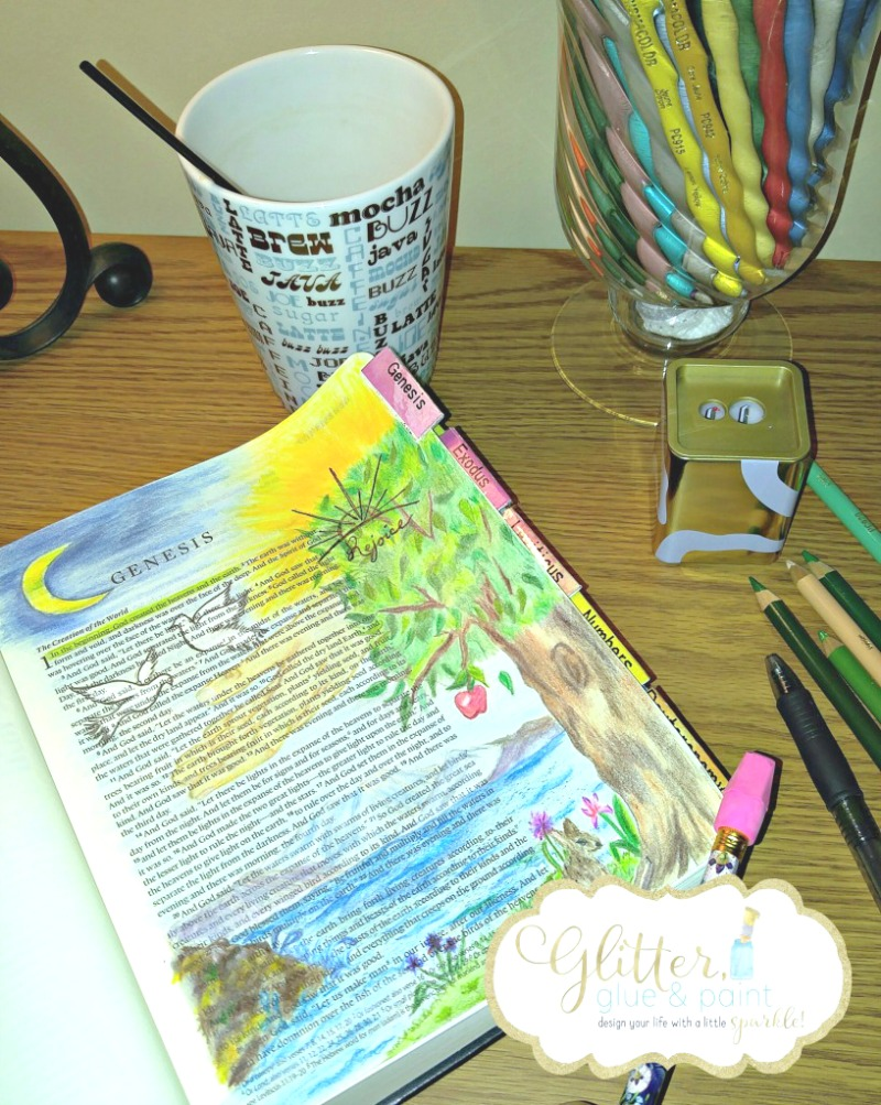 Bible Journaling is an incredible way to draw closer to God in a very creative way. Learn the basics of Bible journaling & get started coloring your faith!