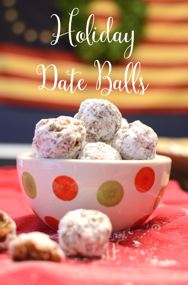 Chopped nuts & date combine with coconut and sugar to make these delicious Holiday Date Balls! So good, you'll definitely want to eat them all!