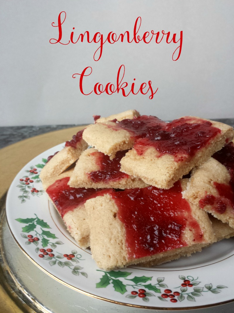 An old Pillsbury cookie recipe gets a Christmas facelift with some delicious lingonberries! Quick, easy, and delicious!