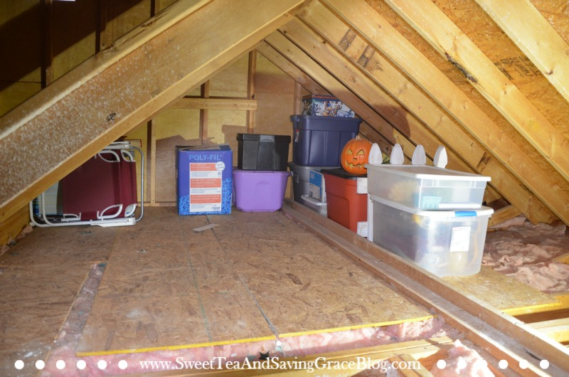 Whole Home Organization Taming The Attic Sweet Tea Ministry
