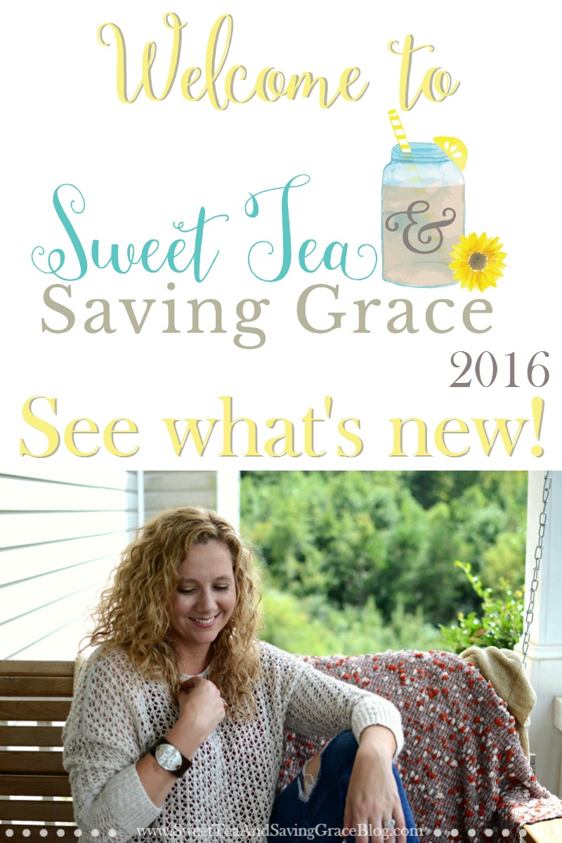 Welcome to Sweet Tea 2016! See how a blog turned into a brand, and what that means for Sweet Tea & Saving Grace and the community in 2016!
