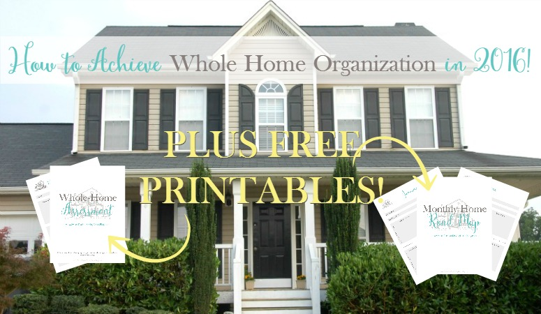 Whole Home Organization Feature