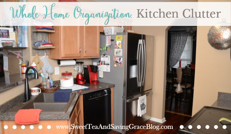 Whole Home Organization: Kitchen Clutter
