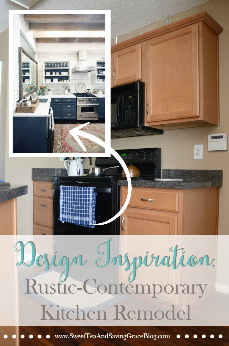 Remodel My Kitchen Planning A Rustic Contemporary Kitchen Remodel Sweet Tea