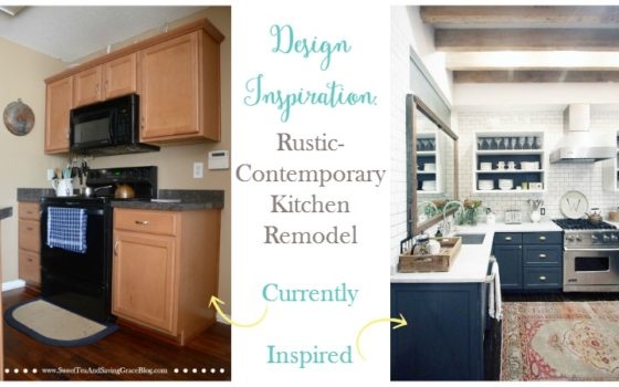 Planning a Rustic-Contemporary Kitchen Remodel