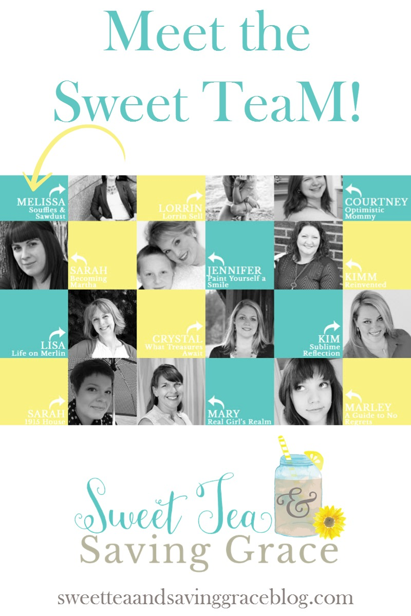 Have you heard the news? Sweet Tea & Saving Grace is now a resource site for women! Encouragement, inspiration, easy recipes, parenting, realistic fashion & beauty, budget home decor - it's all there! Meet the Sweet TeaM, her amazing group of talented contributors, who are making it all possible!
