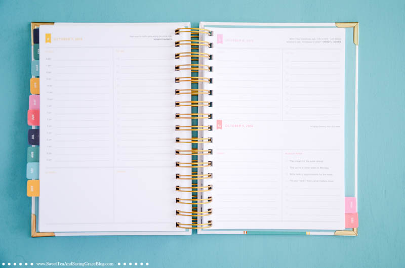 Start the new year by getting organized! Select the right planner for you! Here's an inside look at Erin Condren's Life Planner, Whitney English's Day Designer, and Emily Ley's Simplifed Planner.