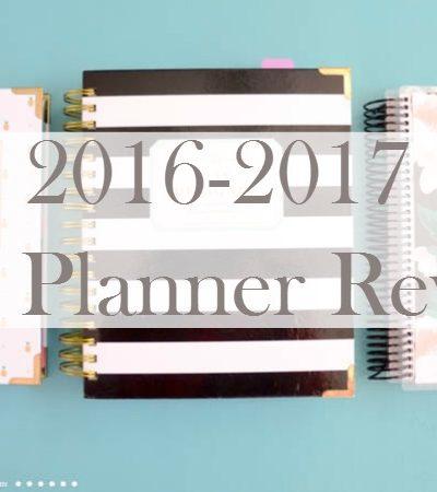 2017 Life Planner Comparison & Review