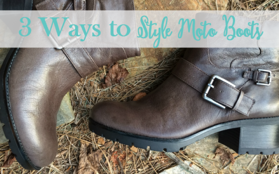 3 Ways to Style Moto Boots