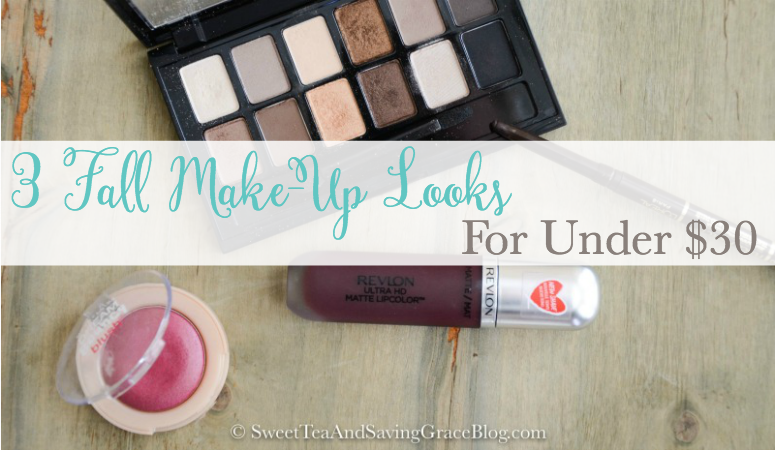3 Fall Makeup Looks for Under $30