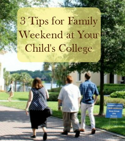 3 Tips for Family Weekend at Your Child's College