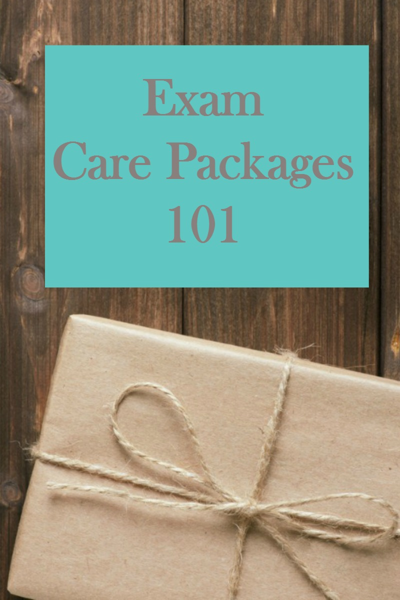 Exam Care Packages 101- send a super care package to your college student!