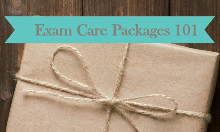 Exam Care Packages 101- send your college student some stress free goodies!