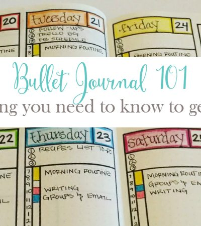 Bullet Journal 101:  Everything You Need to Know to Get Started
