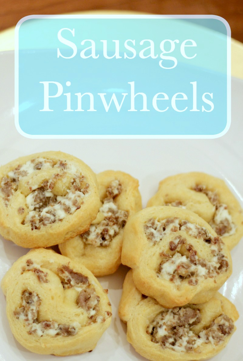 Sausage Pinwheels are a quick & delicious breakfast your kids will love!