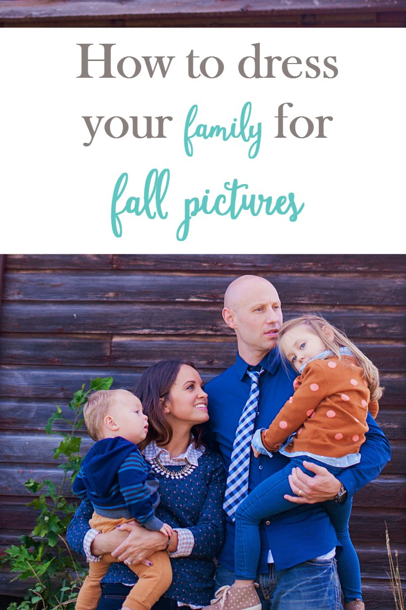 Choosing what to wear for your family's fall pictures can be difficult. These tips will make deciding on the perfect outfits so much easier!