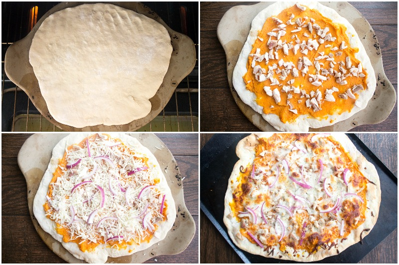Turkey & Sweet Potato Pizza is a holiday flavor combination you'll want to eat all year long!