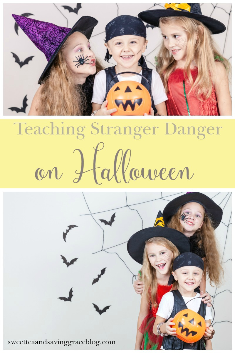 Teaching Stranger Danger On Halloween