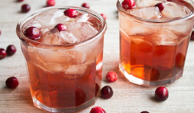 Cran-Apple Fizz