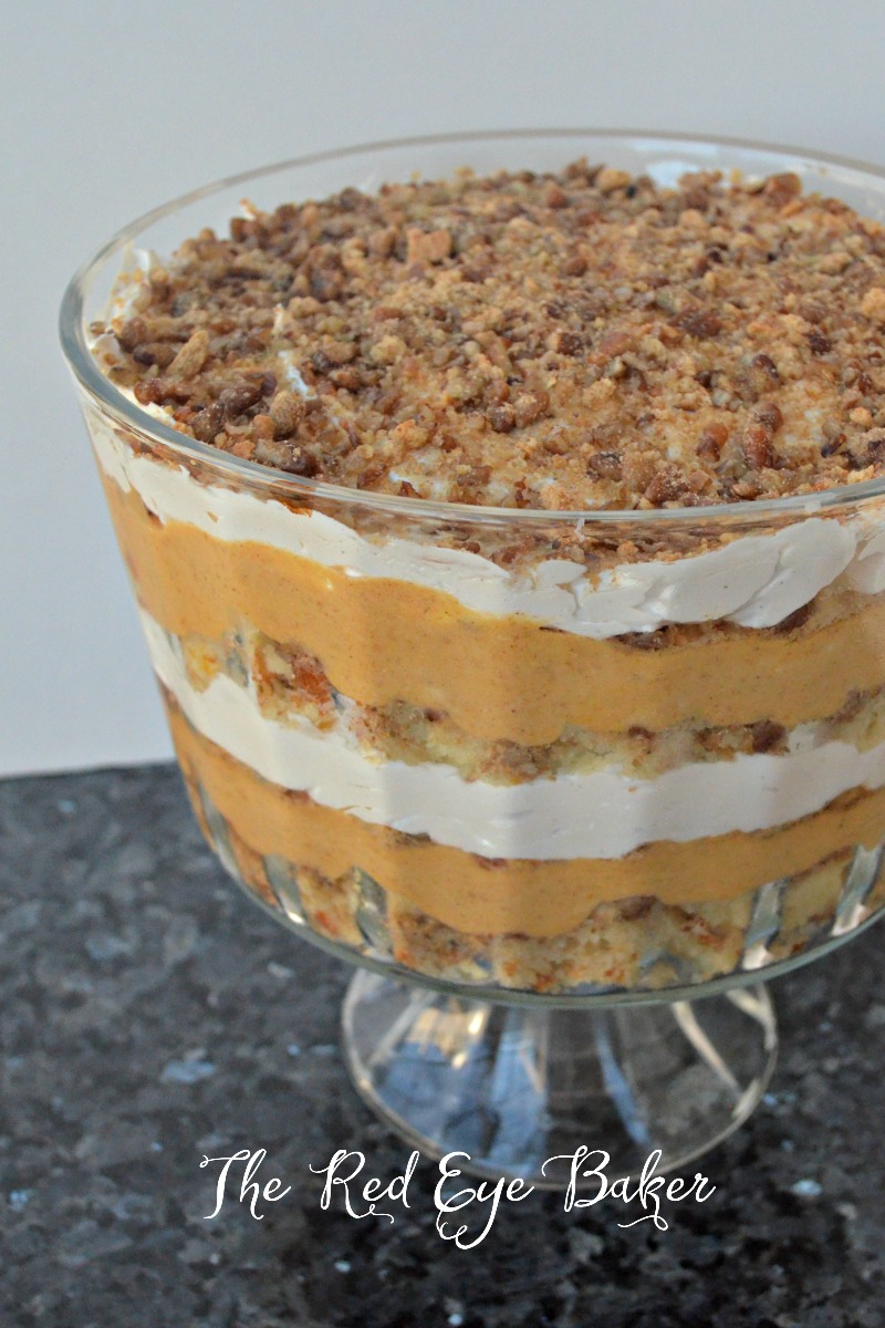 Simple Pumpkin Cheesecake Trifles Recipe — Dishmaps