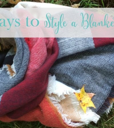 5 Ways to Style a Blanket Scarf