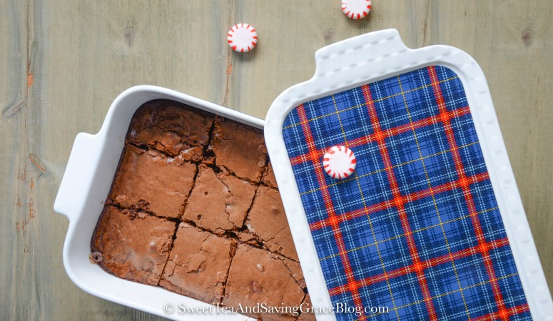 3 Ways to Gift Easy Milk Chocolate Peppermint Brownies